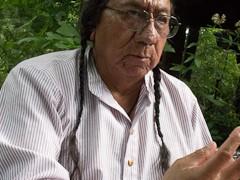 Der Urenkel von Sitting Bull auf der Seebühne