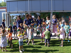 Kinderbetreuung überdurchschnittlich