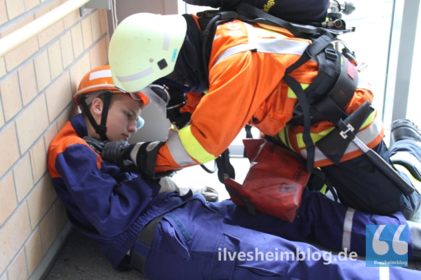 In jeder Notlage vor Ort: Die freiwillige Feuerwehr Ilvesheim.