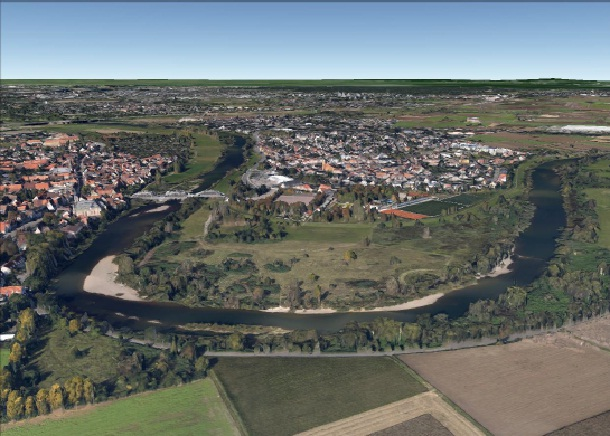 """Als Standort für die Bewerbung zum """"Alla Hopp""""-Projekt wählte man den Neckarbogen aus. Foto: Aus der öffentlichen Vorlage."""